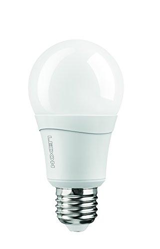 10.5 W Led (Ledon LED Lampe A60 10.5W - Ersatz für 60W Glühbirnen, warmweiß - 2700K, E27, dimmbar, beste Farbwiedergabe 29001027)