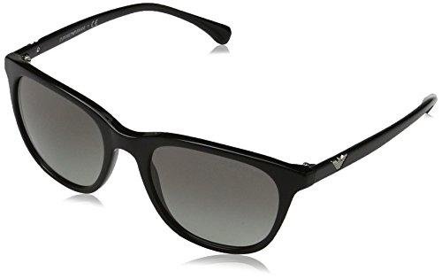 Emporio Armani Damen 0ea4086 Sonnenbrille, Schwarz (Black), 54