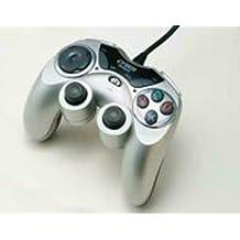 PS2用アナログ連射コントローラスパークリングシルバー