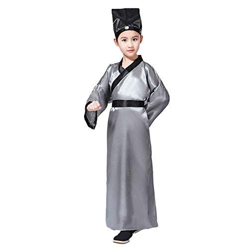 Meijunter Chinesisch Traditionell Hanfu - Uralt Konfuzius Kostüm Performance Graduierung Cosplay Party