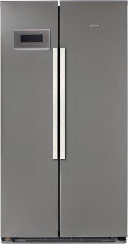 Bauknecht KSN 505 BIO A IL Side-by-Side  A  Kühlen: 335 L  Gefrieren: 207 L  Edelstahloptik  Hygiene Filter  NoFrost