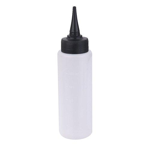 TOOGOO 150 ml Applicateur de mesure de couleur de cheveux de salon Outil de coiffure de bouteille