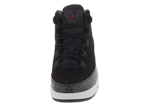 Nike Jordan Air Deluxe, Chaussures de Sport Homme, Taille Multicolore - Negro / Rojo / Gris / Blanco (Black / Gym Red-Dark Grey-White)