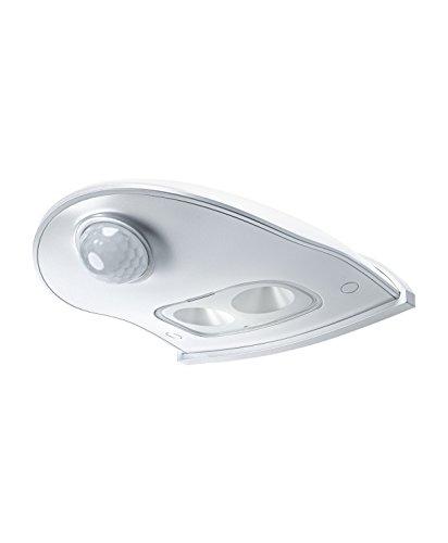 Osram Door LED Down Batteriebetriebene Leuchte, für Außenanwendungen, Bewegungssensor, Tag-Nacht-Sensor, 102,5 mm x 92,4 mm x 36,5 mm, kaltweiß - Tag-nacht-licht