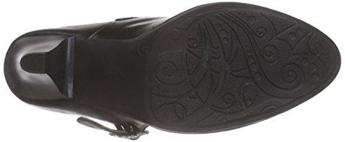 Bergheimer Trachtenschuhe Bärbel Damen Pumps Schwarz (Black)