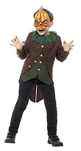 Kostüm O Kind Lantern Jack - Smiffys SMIFFY 'S 42946l Gänsehaut Jack O 'Lantern Kostüm (groß)