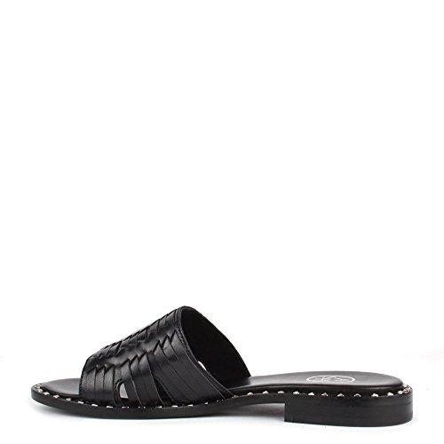 Ash Schuhe Playa Sandalen Damen Schwarz