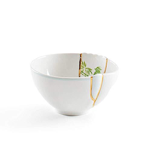 SELETTI Kintsugi Bol en Porcelaine et Or 24 carats Mod. 3