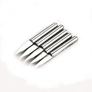 Autek 5 x Hartmetall PCB Gravieren CNC Fräser Bit Werkzeug 30° 0.1 mm J3.3001