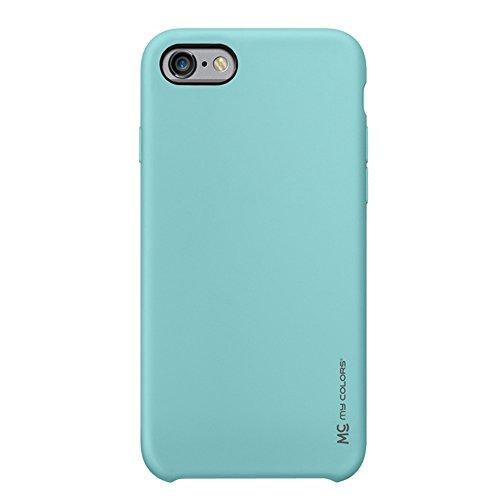 """MOONCASE iPhone 6 Plus/iPhone 6s Plus Hülle, Weich TPU Kratzfest Stoßfest Schutztasche Ultra Slim Schroff Rüstung Handysocken Case für iPhone 6 Plus/iPhone 6s Plus 5.5"""" Pink Sky-blue"""
