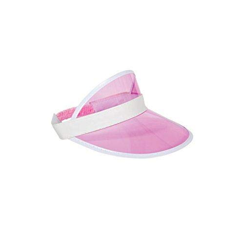 Pink Casino / Pub Golf Visor Hat Fancy Dress Adult One size Costume