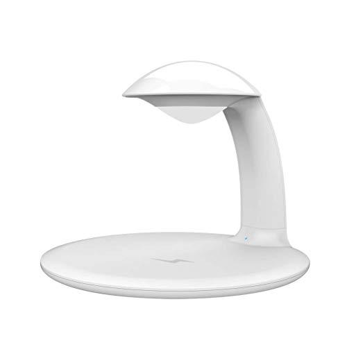 Uonlytech 1PC 3 in 1 Nachtlicht Touch Control Schreibtisch Licht Wireless Charging Dimmable Table Lamp