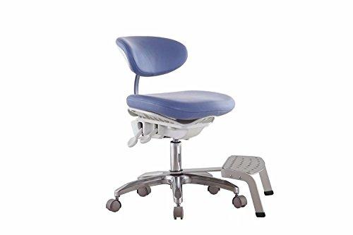 Zgood dynamischer, PU-Leder, Tasche, ergonomisches Design, mit Pedal, Blau - Pedal Legen