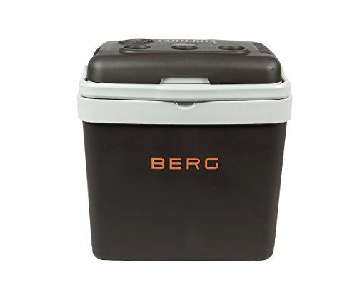 BERG - Nevera eléctrica grande de 33 litros para acampada, playa, picnic