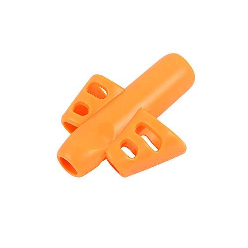 TOPmountain 4 Stücke Bleistift Griffe Für Kinder Handschrift Zwei Finger Grip Stifthalter Hilfe Grip Trainer Haltungskorrektur (Zwei-finger-doppel-ringe)