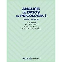 Análisis de datos en psicología I: Teoría y ejercicios