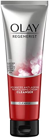 Olay Face Wash Regenerist Exfoliating Cleanser, 100g