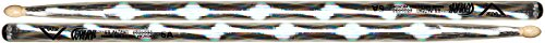 Vater VCS5A 5A Color Wrap Optic Woodtip Hickory Stock (Paar) silber