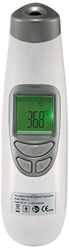 Reer 98010 SoftTemp 3 in 1 kontaktloses digitales Infrarot-Fieber-Thermometer