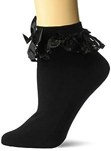 Leg Avenue- Mujer, Color negro, Talla Única (EUR 36-40) (302922001)