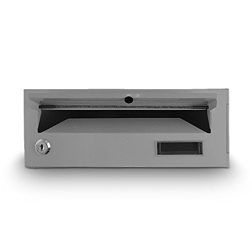Briefkasten Postkasten Etagenbriefkasten Mauerbriefkasten Einbaubriefkasten Briefkastenanlage Grau - 4