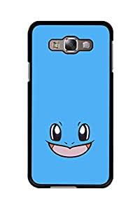Caseque Squirtle Blue Back Shell Case Cover for Samsung Galaxy E5