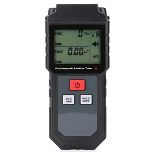 Noradtjcca Elektromagnetisches Feld Strahlungstester EMF Meter Zähler Digital Dosimeter LCD Detektor Messung für Computer Telefon