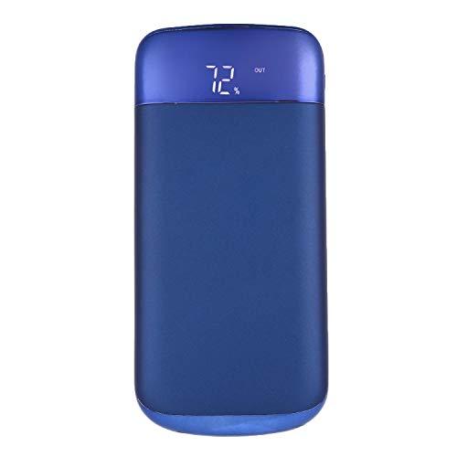Jintes Ultra-dünne LCD-Display Portable Power Bank Notfall-Ladegerä Externe Akkus Blau