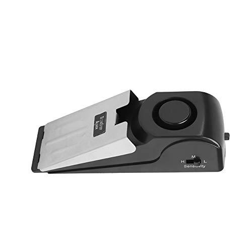 Mavis Laven Keil-Türstopper-Sicherheitsalarm-tragbarer drahtloser Alarm-Einbrecher mit 120db für Hauptwohnungs-Büro-Hotels (Alarm Keil Türstopper)
