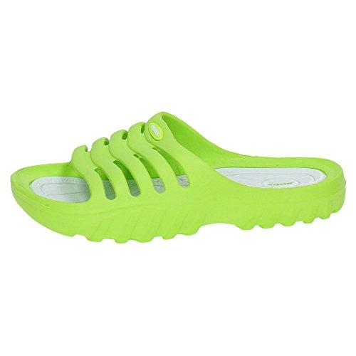 ZAPATOP B8515 Wasserschuhe Mädchen Sandalen, Grün - grün - Größe: 33 EU