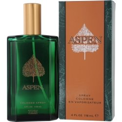 Aspen for Men by Jovan Eau de Cologne Spray 118ml (Clean Men Spice)