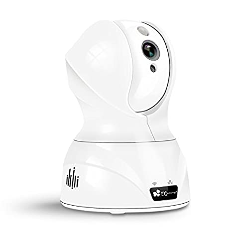 EC Technology 720P Wireless Security Night Vision IP Camera Baby