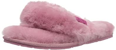 EMU AUSTRALIA Womens Tova Slippers W10105 Hot Pink 3 UK, 36 EU, 5 US