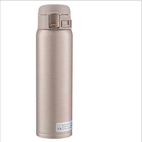 LGGLQW Edelstahl-Vakuumisolierungs-Schalen-kreative Sprung-Schalen-Geschäfts-Wasser-Flasche -