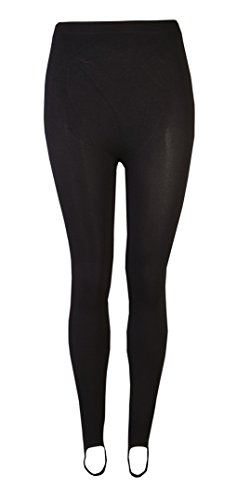 Love Lola® Damen-Ski-Hose / -Steghose / -Leggings, Stretch, für Winter, Schwarz Gr. M, schwarz -