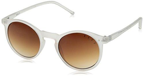 neff Brut Shades Round Sunglasses, Clear/Brown Gradient, 6 mm