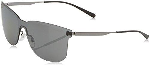 Arnette Herren 0AN3074 502/6G 39 Sonnenbrille, Grau (Gunmetal/Greymirrorsilver),