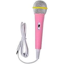only y Karaoke Microphone Jouets, Micro Karaoké Filaire pour Enfants, Chant Musical Machine pour Garçon Fille d'anniversaire Party Favor Jouet