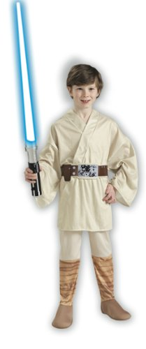 Imagen de rubies 883159m  disfraz de luke skywalker star wars para niño, talla 5 7 años