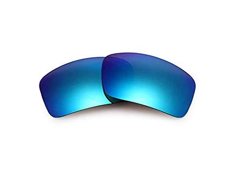 Polarisierte Ersatzgläser für Oakley OIL DRUM Gr. 85, blau