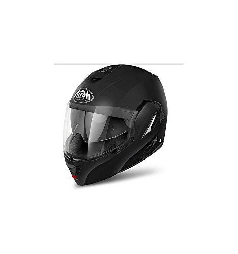 re11l Helm Airoh REV Color Black Matt TG.L