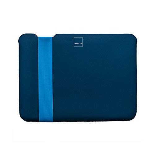 Acme Made Skinny Sleeve S, Ultra-dünne Tablet- und Notebookhülle, 11-13 Zoll, Neopren, dunkelblau/blau - Acme Made Laptop-taschen