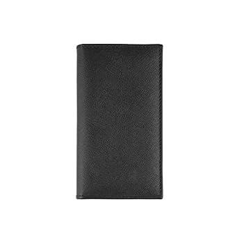 Echtes Leder Agenda 2020 Handmade in Italy – Saffiano -8×16 wöchentlich – Handmade in italy -schwarz