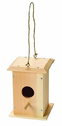 Red Toolbox 14 x 14 x 19.5 cm Bird House