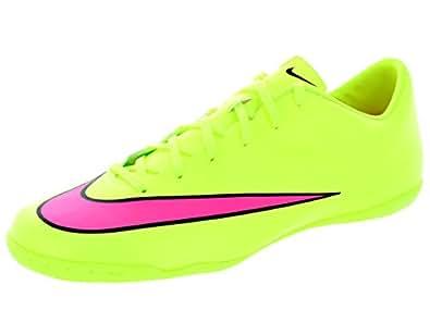Nike Mercurial Victory V IC, Scarpe da Calcio da Uomo, Verde (Volt/Hyper Pink-Black 760), 45