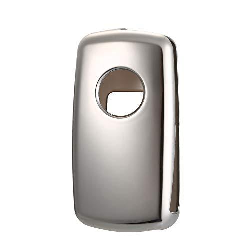KKmoon Schlüsselanhänger TPU Material Fit Für VW Polo Auto Auto Smart Remote Key Fall FOB Shell Fall Snap