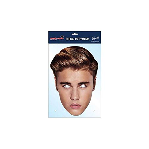 Justin Bieber-Maske (Einheitsgröße) (Bunt)