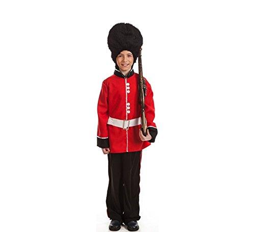 Kostüm Englisch - EL REY DEL CARNAVAL, SL Englische Garde Kostüm für Kinder G2-(8/10 Jahre)