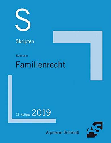Skript Familienrecht