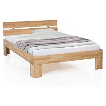 Unbekannt Massivholz Bett Nano 90 X 200 Cm Aus Kernbuche Einzelbett Als Kinder Oder Junior Bett Verwendbar Inkl Rückenlehne 1 Bett á 90 X 200 Cm